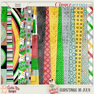 Christmas In July Pattern Papers