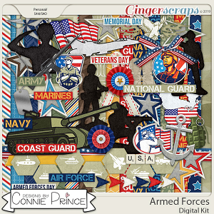 Armed Forces - Kit by Connie Prince