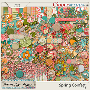 Spring Confetti from Designs by Lisa Minor