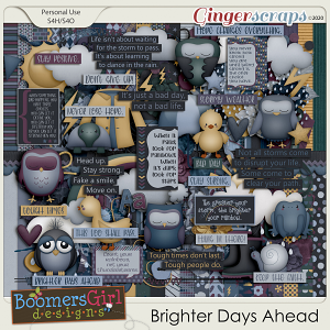 Brighter Days Ahead by BoomersGirl Designs