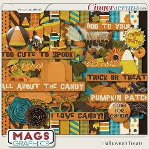 Halloween Treats KIT by MagsGraphics