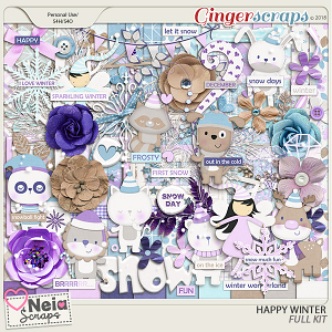 Happy Winter - Full Kit - by Neia Scraps