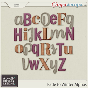 Fade to Winter Alpha Sets by Aimee Harrison