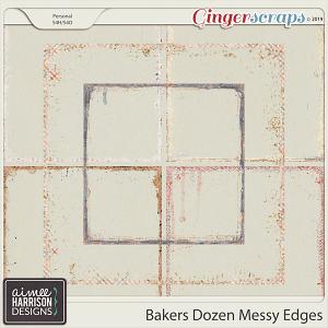Bakers Dozen Messy Edges by Aimee Harrison