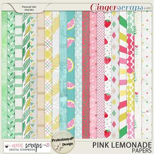 Pink Lemonade - Papers - by Neia Scraps & PrelestnayaP Design