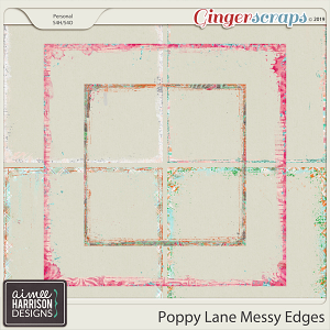 Poppy Lane Messy Edges by Aimee Harrison
