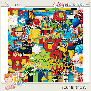 Your Birthday Page Kit