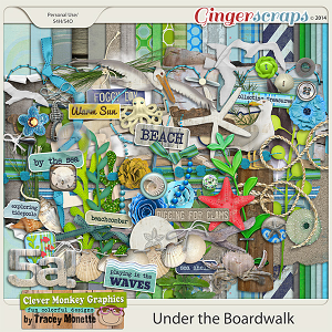 Under the Boardwalk by Clever Monkey Graphics