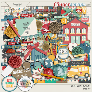You Are An A+ Page Kit by JB Studio and Neia Scraps