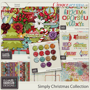 Simply Christmas Collection by Aimee Harrison