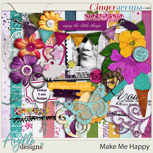 Make Me Happy  by Angelle Designs