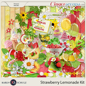 Strawberry Lemonade Kit by Karen Schulz