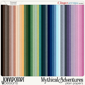 Mythical Adventures {Plain Papers}