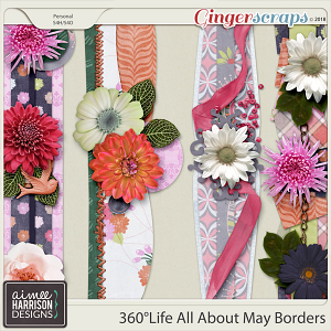 360°Life All About May Borders by Aimee Harrison