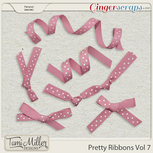 Pretty Ribbons Vol 7 by Tami Miller Designs