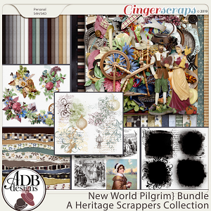 New World Pilgrim Bundle by ADB Designs