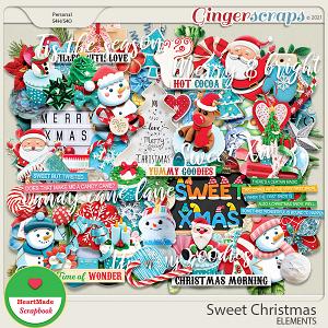 Sweet Christmas - elements