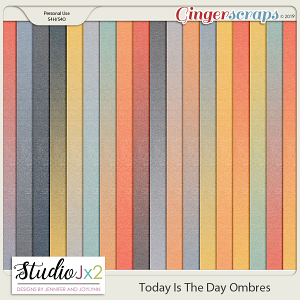 Today Is The Day Ombre Papers