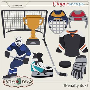 Penalty Box Commercial Use Templates by Scraps N Pieces