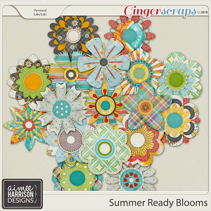 Summer Ready Blooms by Aimee Harrison