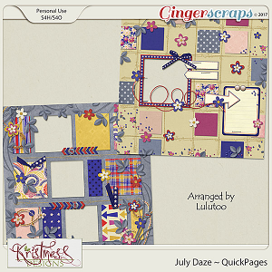 July Daze QuickPages
