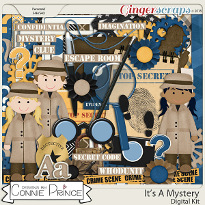 It's A Mystery - Kit by Connie Prince