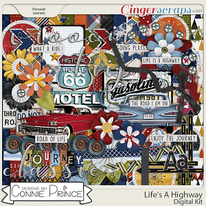 Life's A Highway - Kit by Connie Prince