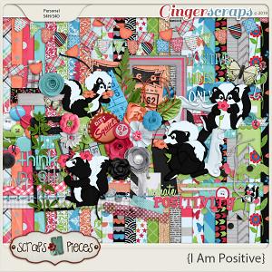 I Am Positive Bundled Kit by Scraps N Pieces