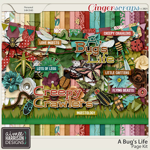 A Bug's Life Page Kit by Aimee Harrison