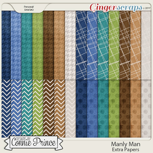 Manly Man - Extra Papers