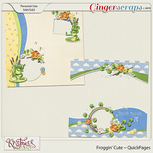 Froggin' Cute QuickPages