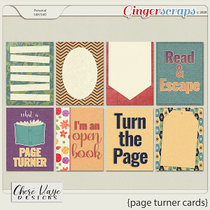 Page Turner Cards by Chere Kaye Designs