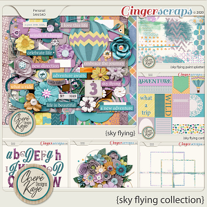 Sky Flying Collection by Chere Kaye Designs