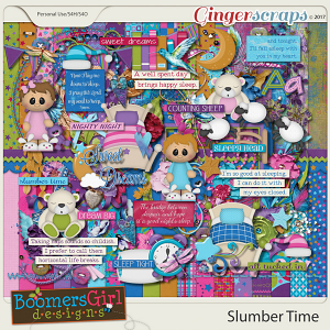 Slumber Time by BoomersGirl Designs