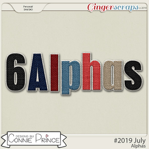 #2019 July - Alpha Pack AddOn by Connie Prince