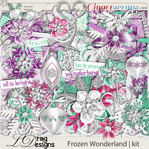 Frozen Wonderland by LDragDesigns