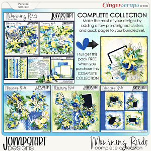 Mourning Birds {Complete Collection} by Jumpstart Designs