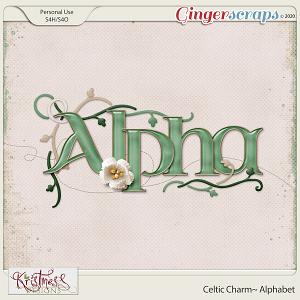 Celtic Charm Alphabet