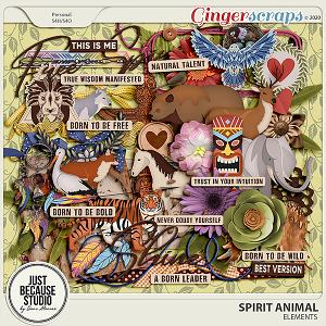 Spirit Animal Elements by JB Studio