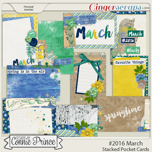 #2016 March - Stacked Pocket Cards