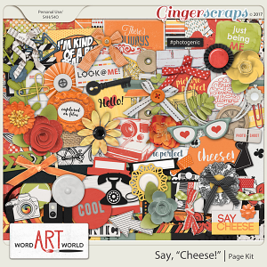 Say Cheese Page Kit