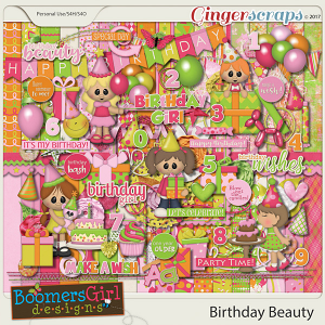 Birthday Beauty by BoomersGirl Designs