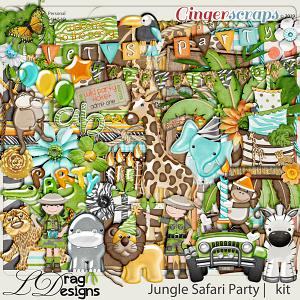 Jungle Safari Party by LDragDesigns