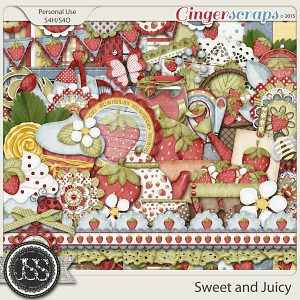 Sweet And Juicy Digital Scrapbooking Kit