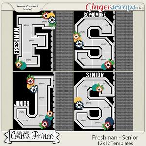 Grades Freshman - Senior Year - 12x12 Temps (CU Ok)