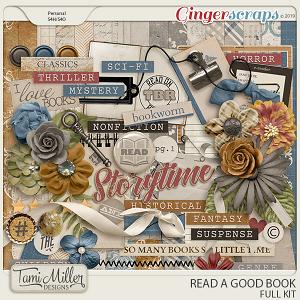 Read A Good Book Full Kit