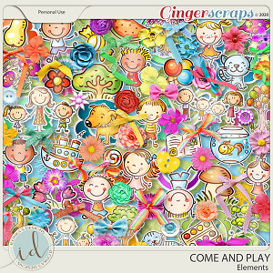 Come And Play Elements by Ilonka's Designs