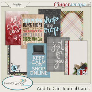 Add To Cart Journal Cards