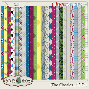 The Classics...Heidi Papers by Scraps N Pieces