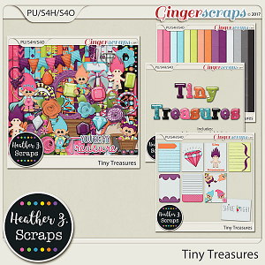 Tiny Treasures BUNDLE by Heather Z Scraps